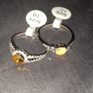 Set of 2 Beautiful rings